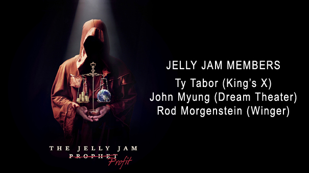 The Jelly Jam featuring Ty Tabor (king's X), John Myung (Dream Theater), and Rod Morgenstein (Winger) .