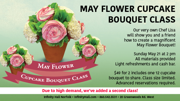 May Flower Cupcake Bouquet Class -SOLD OUT!