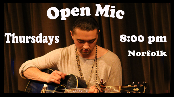Open Mic Night at Infinity Bistro