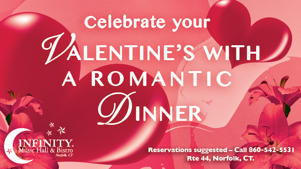 Valentine's Day at Infinity Bistro NORFOLK