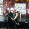 Photos of the groundbreaking at Infinity Hall Hartford CT