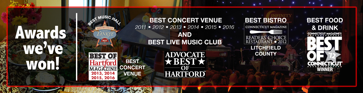 Award-Winning Venue! - All Award History