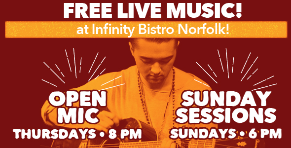 Open Mic and Sunday Sessions in Norfolk