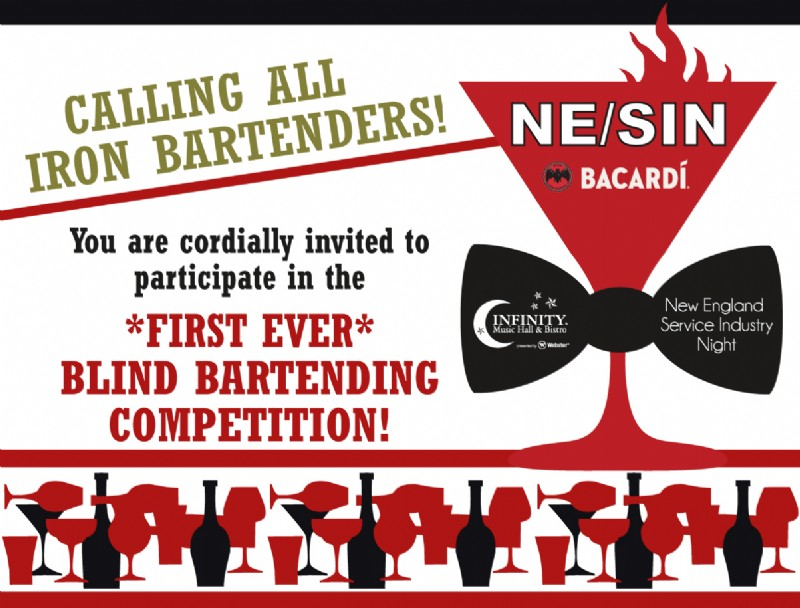 2nd Annual SIN (Service Industry Night) & Blind Bartending Competition