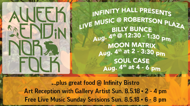 Infinity Hall Presents Live Music @ Robertson Plaza feat. Billy Bunce