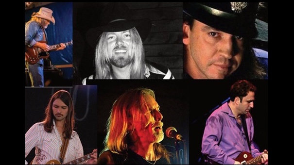 A Tribute to Gregg Allman feat: Michael Allman (son),  Duane Betts (Dickey Betts) and Jeff Pitchell
