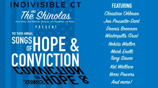 Indivisible Connecticut Presents: Songs of Hope and Conviction