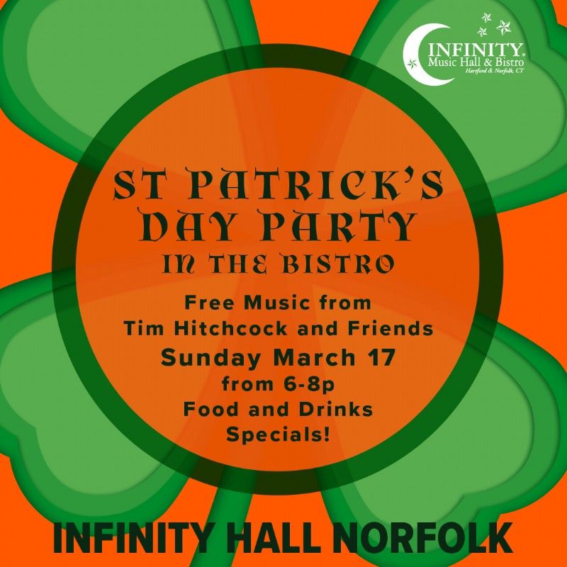 Sunday Sessions! Live music in the Norfolk Bistro  w/ TIm Hitchcock & Friends