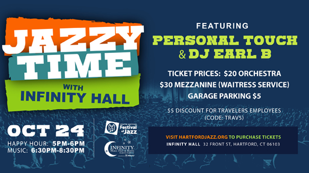 Jazzy Times Fundraiser for the Greater Hartford Jazz Fest
