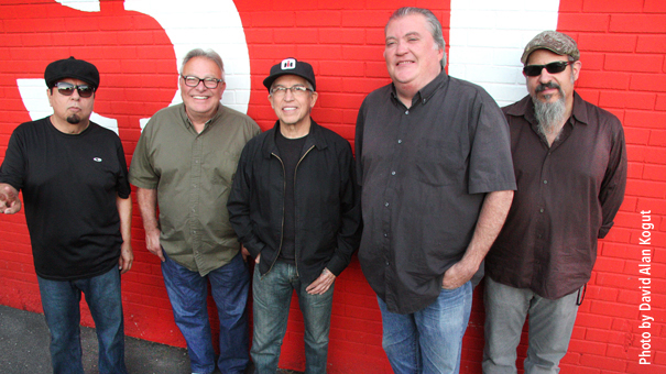 Los Lobos - Mexican American rock pioneers w/ chart topping hit La Bamba