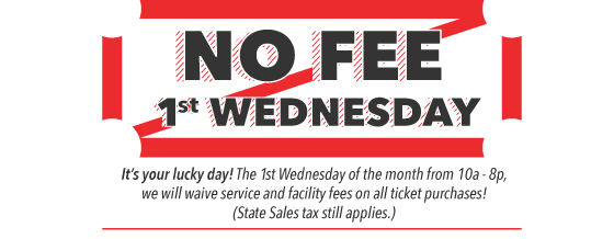 FEE FREE FIRST  WEDNESDAY