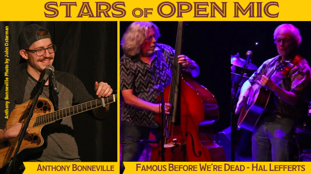 Stars of Open Mic - The Angel & The Hustler, Brett Connors and TJ Sweeney