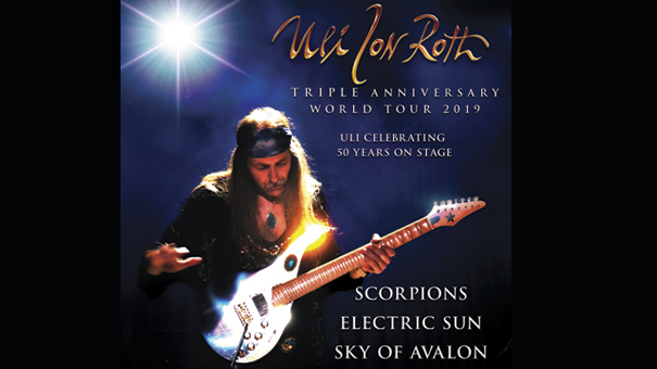 Uli Jon Roth - formerly of The Scorpians