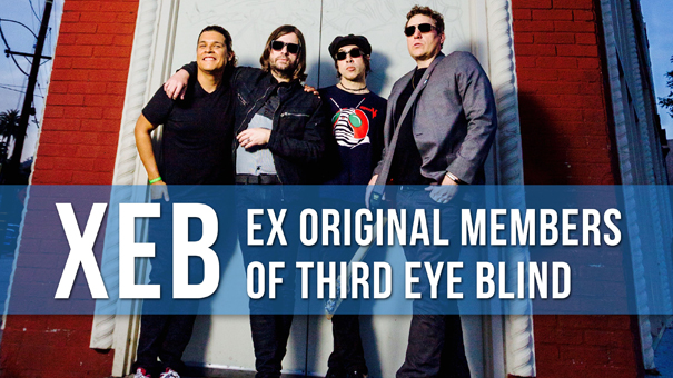XEB (original members of THIRD EYE BLIND) performing the best of 3EB w/ Stocklyn